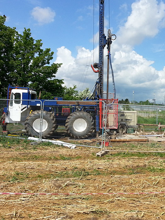 water well drilling work